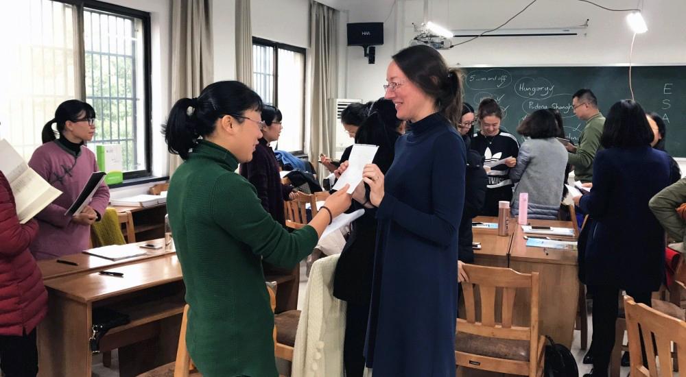 13 news shaoxing 4 - 绍兴市ICELT项目第一阶段培训圆满完成