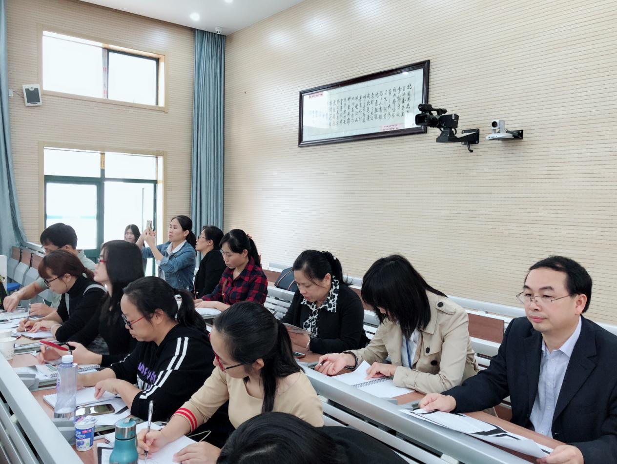 """6 - 2018年玉林""""十三五""""英语名师培养工程南京基地学校研修顺利完成"""