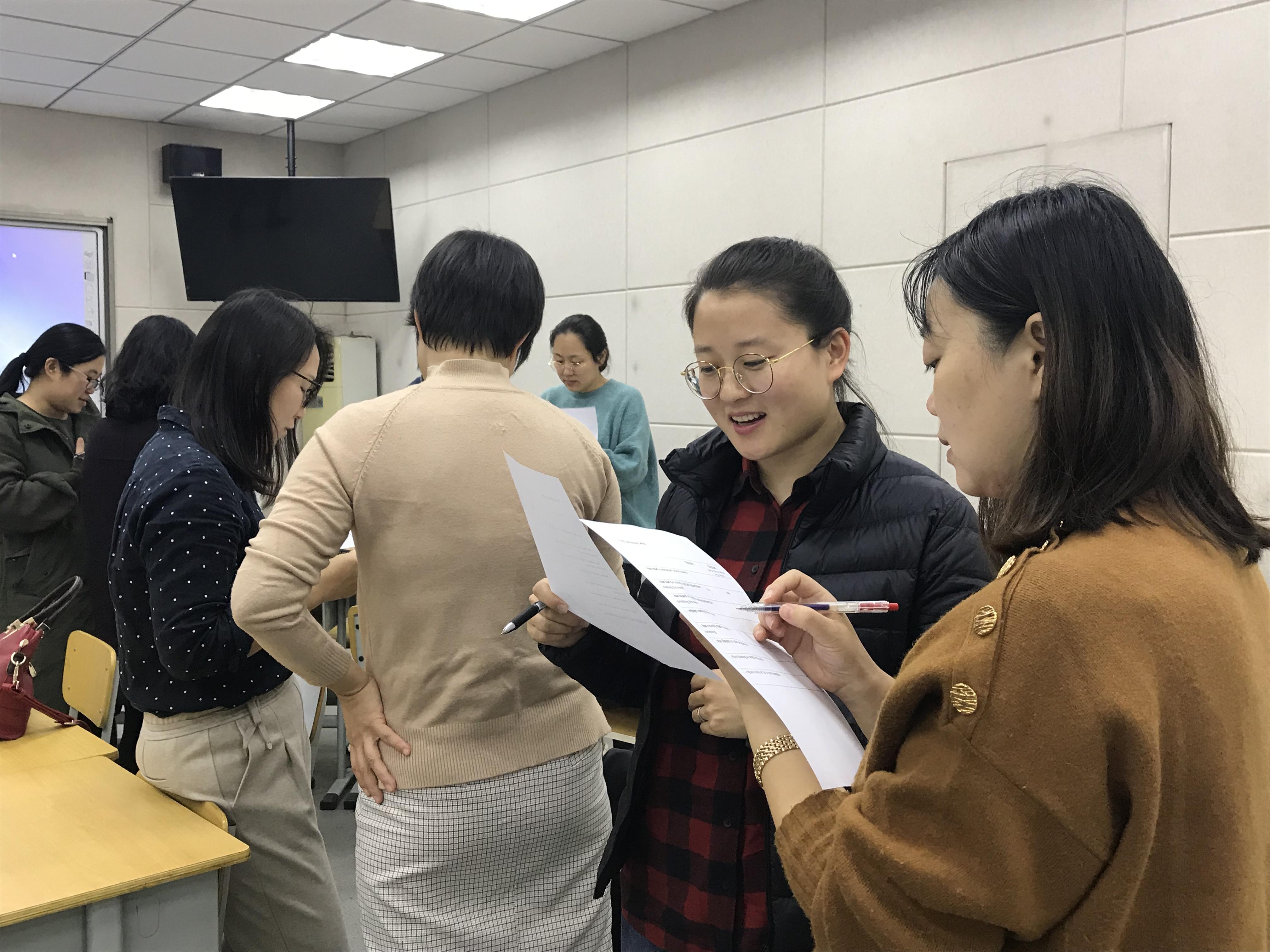 IMG 05081 - 郑州市2018年高中英语骨干教师高级研修班PTS TP2圆满完成