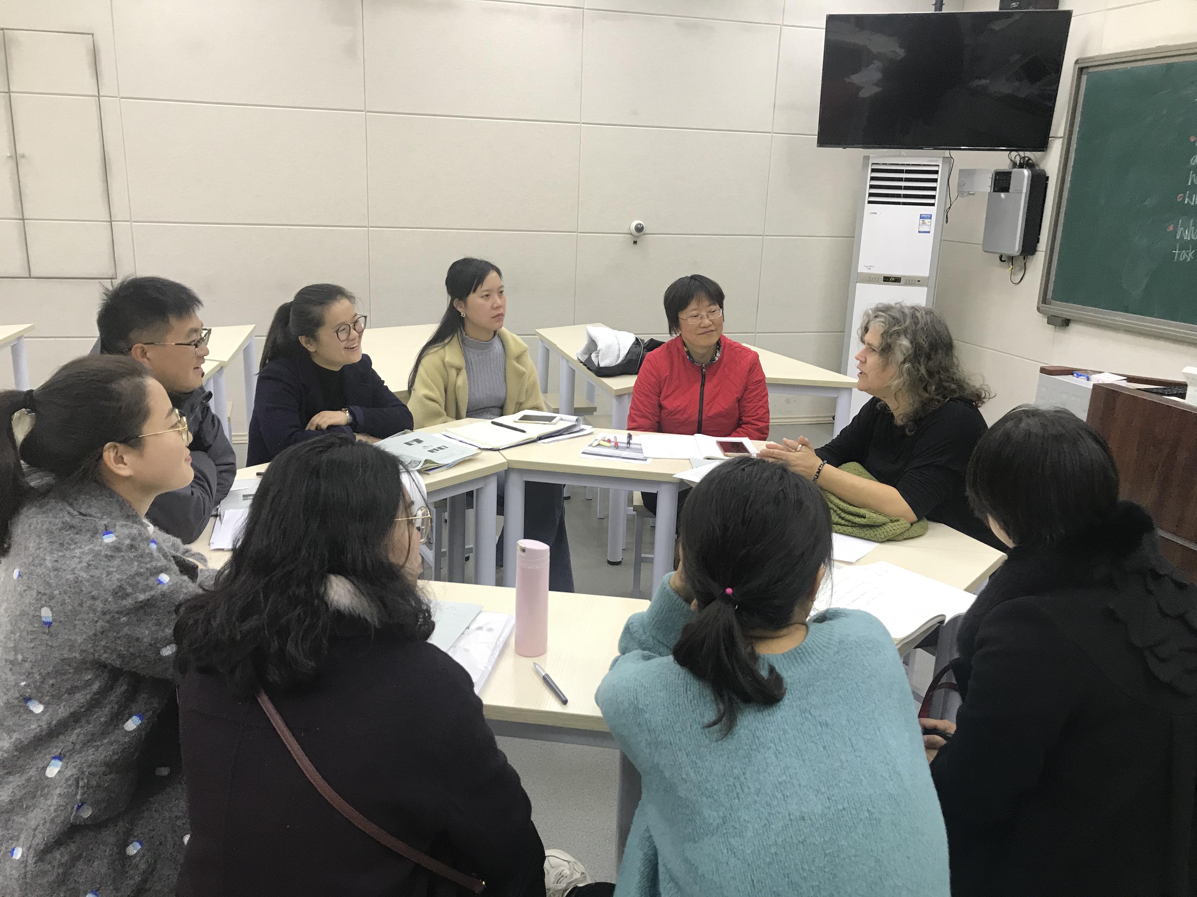 IMG 07811 - 郑州市2018年高中英语骨干教师高级研修班PTS TP2圆满完成