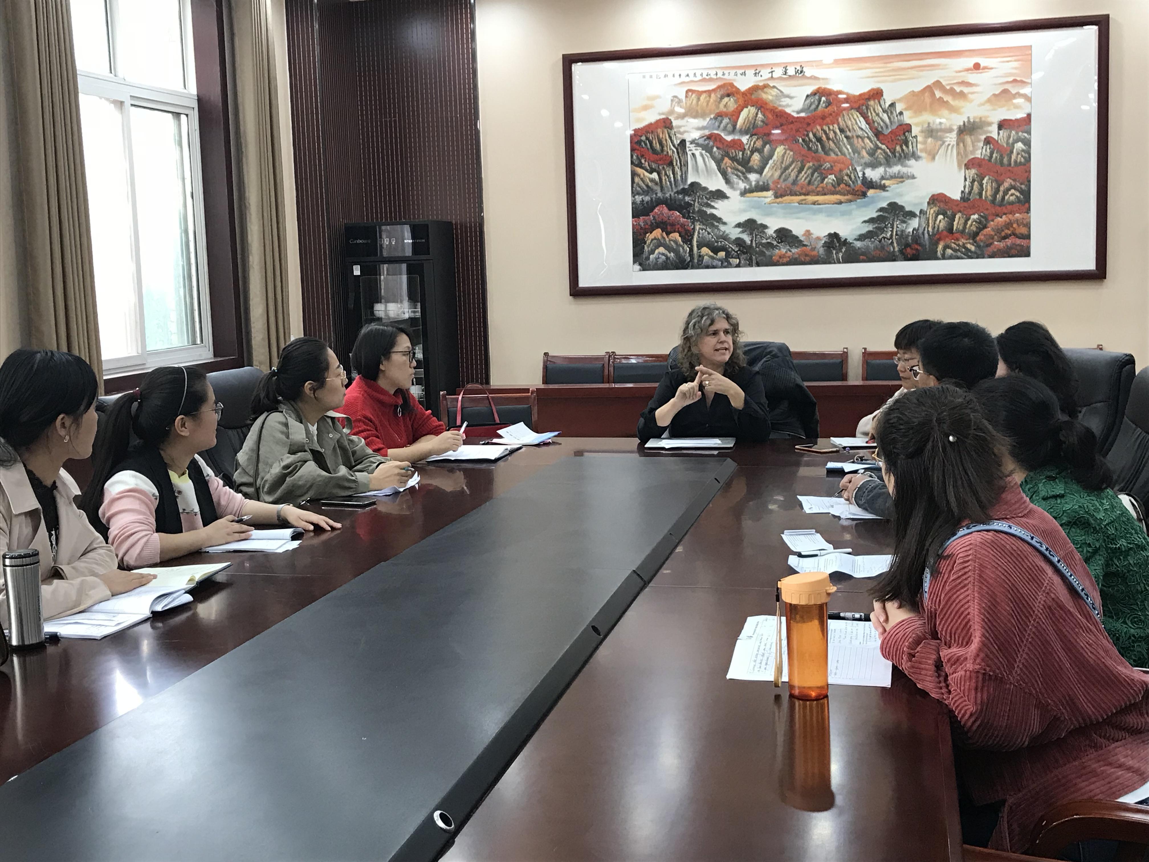IMG 92891 - 郑州市2018年高中英语骨干教师高级研修班PTS TP1圆满结束